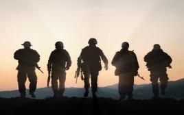 חיילים בפעילות מבצעית