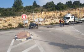 """רכב חולף נורה על ידי כוח צה""""ל בשוגג"""