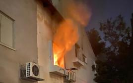 שריפה בדירה ביפו
