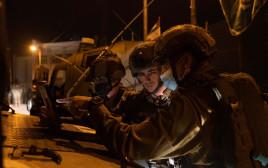 פעילות כוחות צה״ל בכפר דיר ניזאם