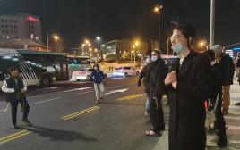 מחאות בירושלים על מותו של אהוביה סנדק
