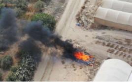 שריפת פסולת פיראטית