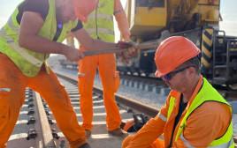 עבודות תשתית ברכבת ישראל