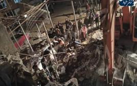 היעד שהותקף בתקיפה המיוחסת לישראל בסוריה