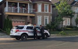 המשטרה בקנדה מחוץ לזירת הפשע