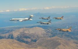 תרגיל משותף של חיל האוויר ביוון בשנת 2018