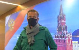 נבלני נוחת ברוסיה