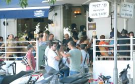 תור במסעדה בתל אביב