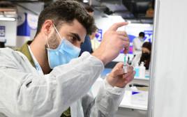 חיסון לקורונה (למצולם אין קשר לנאמר בכתבה)