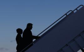הזוג טראמפ נפרד מהבית הלבן