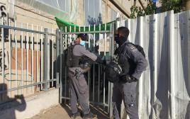 המשטרה במוסד גרונדא באשדוד