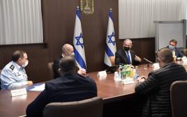 הפגישה בין נתניהו לראשי הרשויות הערביות