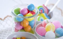ממתקים, אילוסטרציה