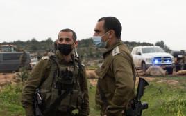 """פעילות כוחות צה""""ל לאחר סיכול ניסיון הפיגוע בחוות שדה אפרים"""