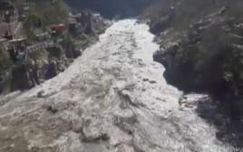 השיטפון העוצמתי בהודו