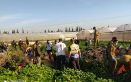 תאונת הדרכים בבקעת הירדן