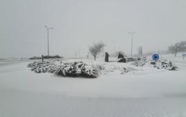שלג בגולן