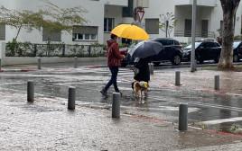 """גשם בת""""א"""
