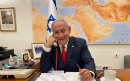 """רה""""מ נתניהו משוחח עם הנשיא ביידן"""