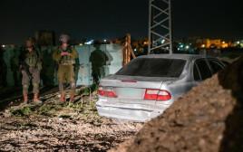 מעצר החשודים במעורבות בפיגוע