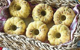 לחם תירס, עירית וזיתי קלמטה