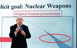 בנימין נתניהו מזהיר מהגרעין האיראני
