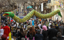 חגיגות פורים בירושלים