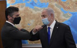 נתניהו והשגריר הראשון של איחוד האמירויות בישראל