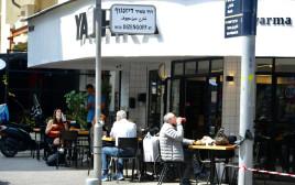 רחוב דיזנגוף בתל אביב בעת פתיחת המשק היום