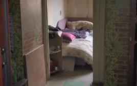 החדר בו הוחבאה הגופה