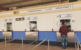 כניסת העובדים מירדן במסוף רבין בערבה