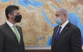 ראש הממשלה נתניהו והשגריר האמירותי