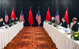"""הפגישה הדיפלומטית בין ארה""""ב לסין"""