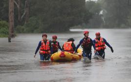 שיא של גשמים באוסטרליה
