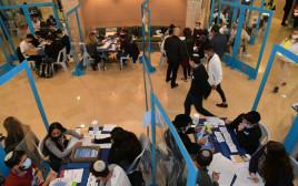 ספירת הקולות בבחירות לכנסת ה-24