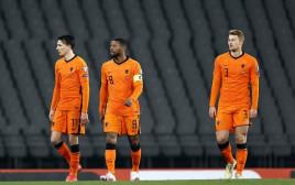 שחקני נבחרת הולנד מאוכזבים