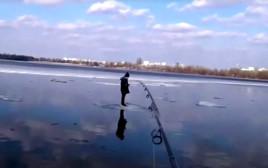 חילוץ באמצעות חכת דיג
