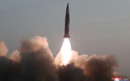 שיגור הטיל בצפון קוריאה