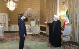 איראן וסין חותמות על הסכם שיתוף פעולה כלכלי
