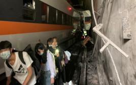 תאונה רכבת עם עשרות הרוגים