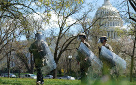 כוחות הביטחון בגבעת הקפיטול