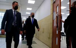 ראש הממשלה נתניהו נכנס לאולם בית המשפט