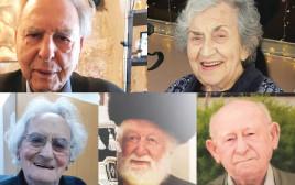 ניצולי השואה שנפטרו מנגיף הקורונה