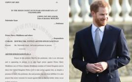 תביעה נגד הנסיך הארי