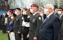 ריבלין וכוכבי בטקס מצטייני הנשיא