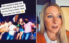 טיילר פייג' חשפה את הבגידה של בעלה לשעבר