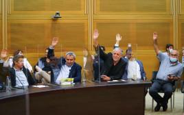 ההצבעה בוועדה המסדרת