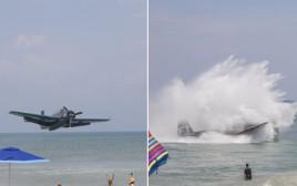 התרסקות המטוס בחופי פלורידה