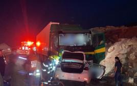 התאונה בכביש 90 בערבה