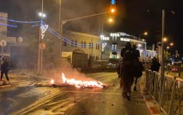 המהומות בירושלים הלילה